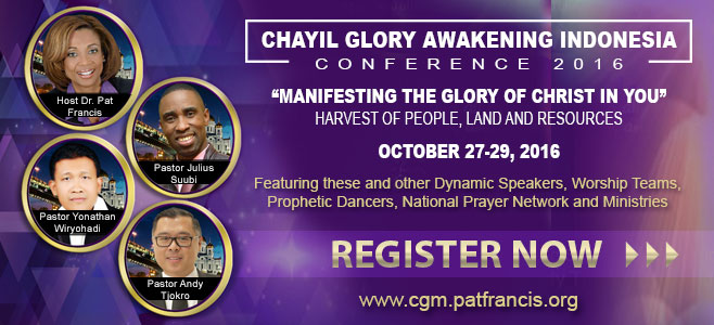 CHAYIL Glory Conference Indonesia